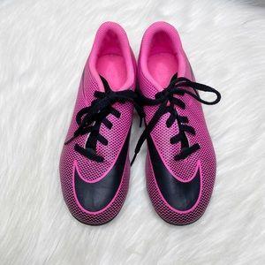 Nike Bravata II FG Soccer Cleats Pink Black
